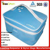 Promotional 600D Polyester travel cosmetic bag, beautiful cosmetic bag