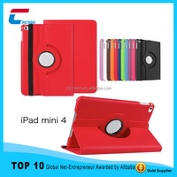 High quality leather case for iapd mini 4 case ,tablet leather cover for ipad mini 4 ,for ipad mini leather case