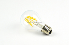 led home lighting 4w 6w 8w led filament bulbs with dimmable ul list