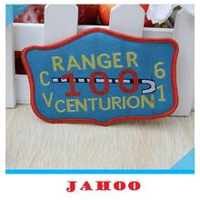 High Density Clothing Badges Garment Accessories