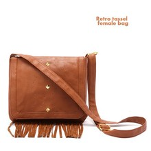 VT604 Retro designer tassel femal bags for sale