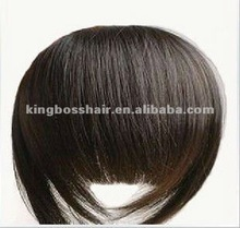 good quality all cuticle attached ,human fringe bang bobby style