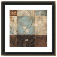 Simple abstract Framed wall hanging pictures 3D arts