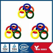 China whole sell color EPDM Butyl rubber o ring with oil and grease resistance for sealing