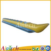 Big inflatable water boat for adults