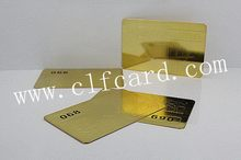 Branded top sell black stainless steel name card