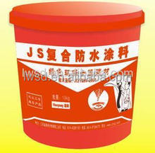 JS cement composite waterproof coating for Building roof/basement/balcony/Building waterproofing coatings