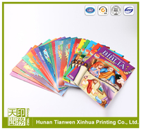 full color softcover children book printing service