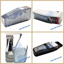 Accept paypal ,V40 Financial Equipment Portable Battery,Plug Mini Money Counter