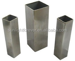 China manufacture 100x100 galvanized steel Square Tube/pipes