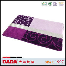 2015 fashion polyester washable rugs
