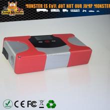 portable power bank 12000mah with car jumper jumpstarter