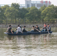 6 meters plastic aluminum portabl fishing kayak with diesel