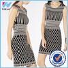 Yihao Trade Assurance 2015 Latest fashion dress design Jacquard summer dress