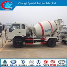 Best-selling concrete truck FOTON Forland 4x2 mini truck concrete mixer