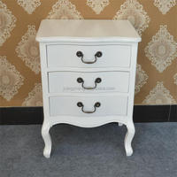 Modern MDF White Drawer Chest Bedroom Furniture For Girl