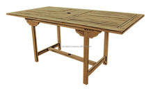Rectangular Wooden Dining Table Extendable