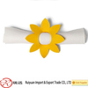 Flower shaped Christmas decorative felt napkin holder for promotion