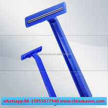 twin & triple blade shaving China oem plastic disposable razor for eyebrow shaving wholesale (personal care & Medical use)