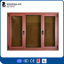 ROGENILAN 45 series fashion home design aluminum french casement window aluminum windows and doors