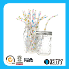 New Design Cheap Bendy Drink Paper Straw Party Supply Hot Sale
