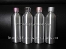 400ml aluminum metal bottle for cosmetic liquor liquid manufacturer