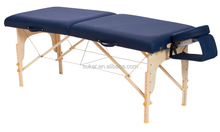 Super Sale 2 Section Wooden Massage Table with Free Carrying Bag
