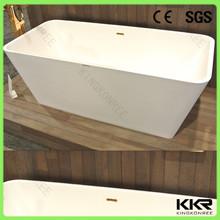 venta al por mayor personalizado sólido superficie de la bañera de la venta