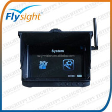 """C727 32CH 5.8Ghz Wireless 5"""" FPV Monitor DVR with Sunshade, Auto Scan&Lock Channels"""