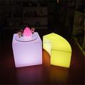60cm cubos coloridos e útil cadeiras& mesas móveis iluminação led cubo