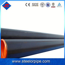 Alibaba Best welded steel pipe Supplier,High Quality low carbon sch40 large diameter galvanized welded steel pipe