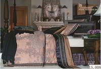 King size 3d bed sheets cotton bedroom set luxury european 3d embroidery bedding duvet cover set silk jacquard 3d comforter