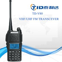 TD-V80 Scramble fuction VOX radio dual band talkie walkie 20km range
