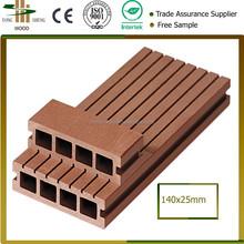 plastic wood composite deck floor/wood plastic composite slats