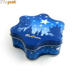 Custom Christmas Gift Box Tin Container