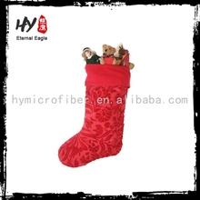 Brand new bulk christmas stockings, promotional christmas stocking, christmas santa stocking