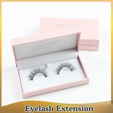 Popular false eyelashes 100% Mink fur eyelash extension