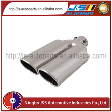 Factory price double exhaust tip for dodge journey
