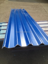 Economic new coming light blue clear corrugated roof