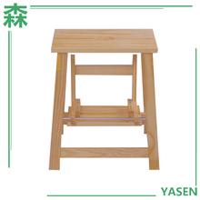 Yasen Houseware New Desgin Custom Home Furniture Indoor Wooden Footstool Furniture Kids Foot Stool