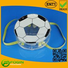 pvc soccer print mini carry bag