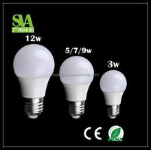 China Cheap LED Bulb LED Lamp 2015 New Hotsale CE Rohs 3W 5W 7W 9W 12W E27 LED Bulb E27