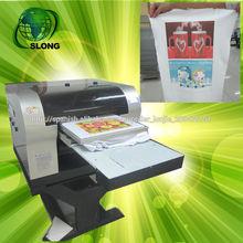 Blanco máquina digital t-shirt de impresión, negro t-shirt máquina de impresión de bajo precio para la venta