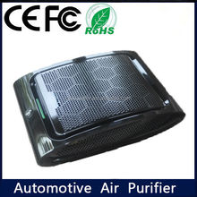 Portable anion active carbon perfume car air purifier cleaner fresher disinfector deodorizer airplane car air freshener