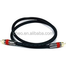 Monoprice High-Quality RCA Male to Male AudioVideo Coaxial Cable Black -hc-61-31