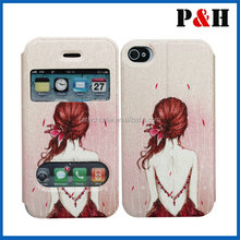 PU leather case for iphone 5,5s,pu cases for iphone