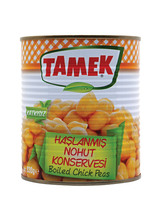 READY FOOD, CANNED FOOD/VEGETABLES ( BOILED CHICK PEAS )