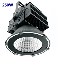 250W stadium lights 20000Lm AC110-240V IP65 MEANWELL LED driver Ra>80 CE ETL UL CSA lited