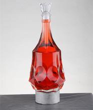 Customized design dorica marasca glass bottle wholesale liquor prices