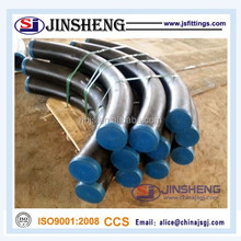 Asme b16.49 carbon steel 90 degre pipe bend for petroleum